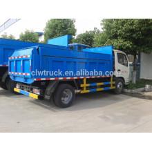Dongfeng 4m3 caminhão de lixo pequeno, 4x2 2 toneladas capacidade caminhões de lixo