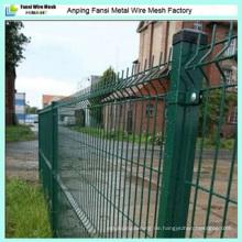 Verzinkte PVC-beschichtete geschweißte Maschendraht-Zaun-Netting