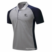 Custom Polo Shirt Casual Polo Tee Shirt Tops High Quality Polyester Leisure Tshirt