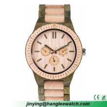 OEM especializada na produção de madeira relógio, relógio de madeira multifunções