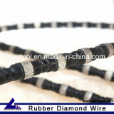 Diamond Wire with Sintered Diamond Beads for Stone Quarry of Granite