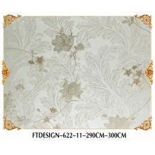 Papel pintado de alta calidad de la materia textil gruesa, pared de la foto, papel pintado profundo de la grabación en relieve