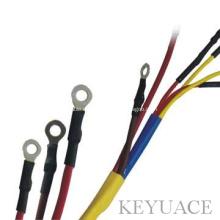 Tubos termorretráctiles para cables eléctricos