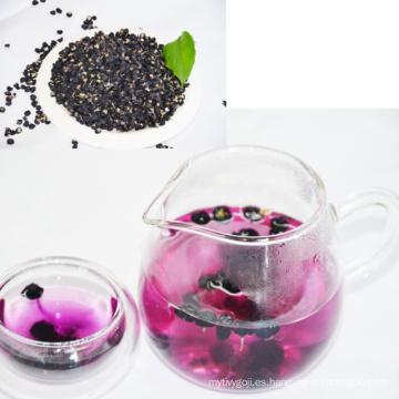 2017 nueva cosecha de la cosecha al por mayor a granel orgánica fresca negro goji berry