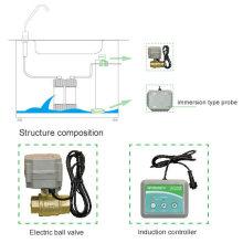 Utilisation à domicile avec vannes d'arrêt automatiques Détecteur de détection de fuite d'eau Système d'alarme