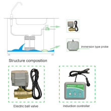 Использование дома с автоматическим отключением клапанов Система обнаружения утечек воды