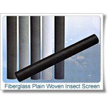 Tela de insetos tecida lisa da fibra de vidro S0274