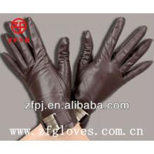Damenbolzen Lederhandschuhe mit Zubehör
