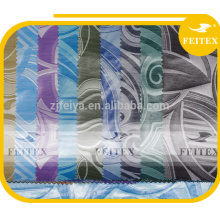 tela de bazin teñida shadda de Jacquard del algodón del poliéster broche de Guinea africana
