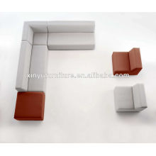 different color elements sectional Canape sofa design XY0327