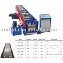 Anode plate roll forming machine