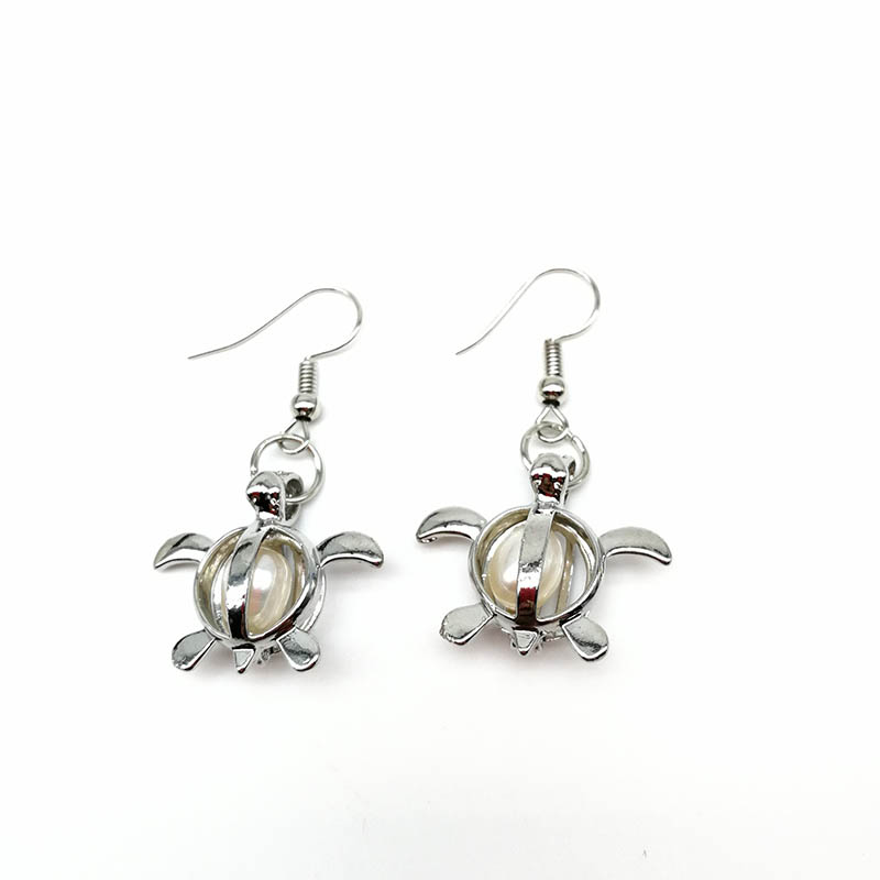Women S Fashion Turtle Pendant Earrings