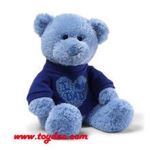 Plush T-Shirt Blue Bear