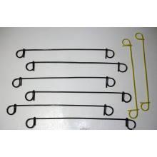 Fil de cravate à double boucle de 1,0 mm à 1,6 mm