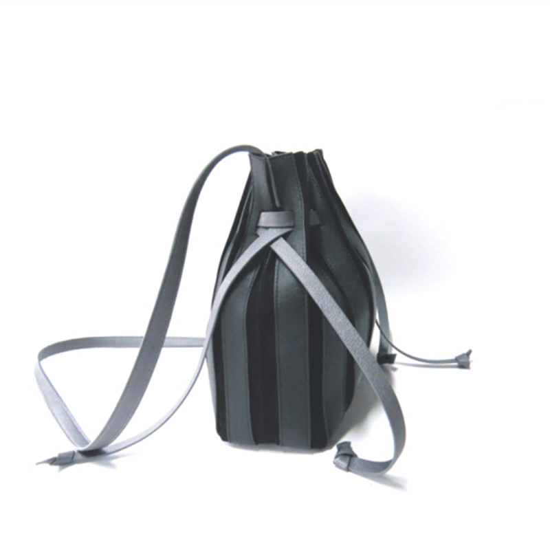 Drawstring Harness Shoulder Bag
