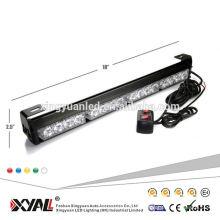 19 '' barra de luz de polícia Strobe frente barra de luz LED usado aviso vermelho azul piscando luz