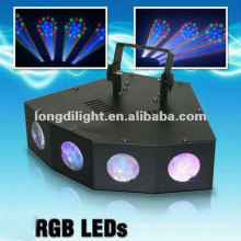 DJ Lighting 4 Head led effect light/DMX led moon flower light