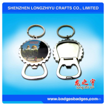 Tourist Souvenir Bottle Opener Key Chain