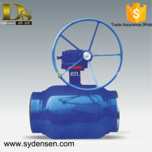 Densen offered big size flow control ball valve