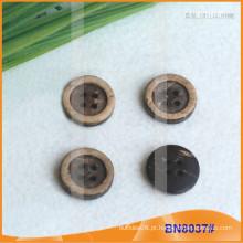 Botões de coco naturais para vestuário BN8037