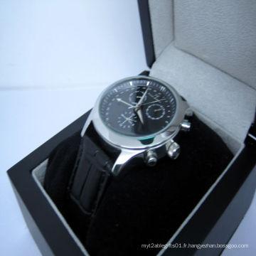 Smart cuir montre, montre mécanique (JA15009)