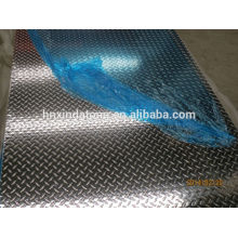 aluminum embossed sheet for anti-slip usage
