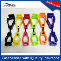 POM Venta caliente colorido plástico guantes de seguridad titular clips