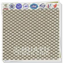 Tricot tissu vêtements de sport et chapeaux tissu mesh interlining