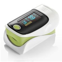 Equipo médico oxímetro de pulso de dedo portátil