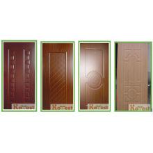 Высококачественная классическая кожа наружной двери из меламина