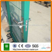Industrial security steel gate