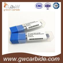 Торцевые фрезы карбида 2 флейты HRC45