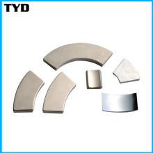 Permanent Strong Magnet Standard Neodymium Segment Magnet Grade N35