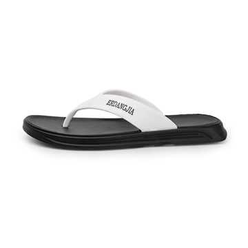 Flip Flop Men Beach Leather