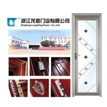 Portas decorativas de alumínio T do banheiro do preço de fábrica