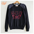 Mens Pullover All Black Mortar Printing Sweaters