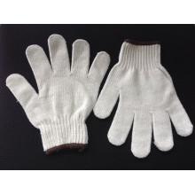 white cotton working glove high quality