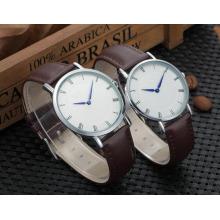 Yxl-574 36mm 40mm Reloj de cuarzo delgado popular del acero inoxidable, reloj delgado de los hombres, reloj delgado de las mujeres