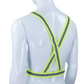 Hi Vis Reflective Safety Elastic Belt Sash