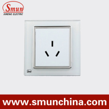 White 3 Pin Wall Socket, Wall Switches