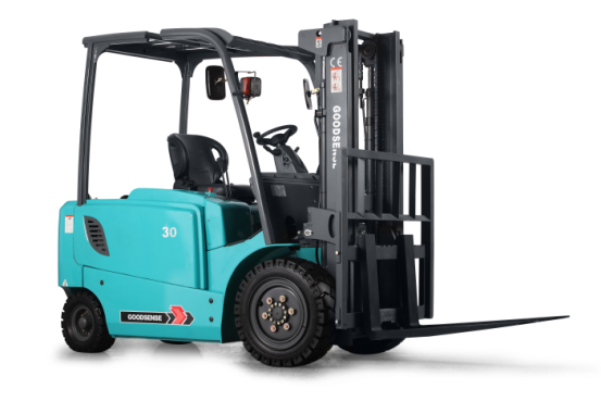 Forklift With Hoppecke Battery