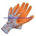 Printed Liner, Color Garden Glove