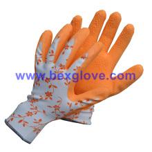 Doublure imprimée, gant de jardin de couleurs