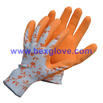 Printed Liner, Color Garden Glove