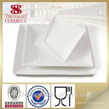Wholesale vaisselle en porcelaine, plaque de restaurant de stock