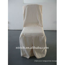 banquet chair cover with pleat at the front and leg,CTV533 polyester material,durable and easy washable