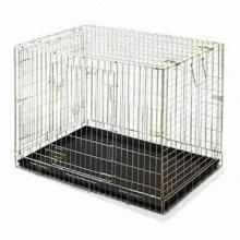 Foldable Dog Puppy Crate Cage Car Carrier, ABC Plastic