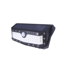 USB Rechargeable Outdoor Solar Garden Wall Light