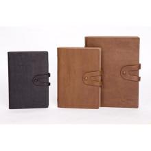 De boa qualidade, capa dura PU Leather Notebook Printing