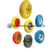 Roda de espuma 4.80 / 4.00-8 do plutônio, roda dos carrinhos de mão